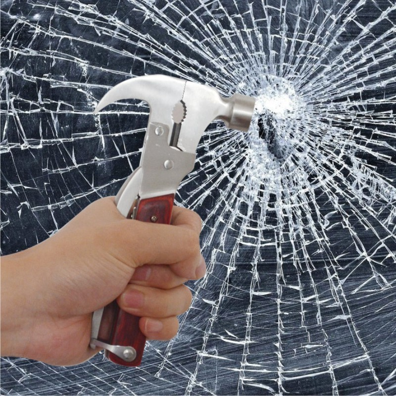 汽车安全锤 车用救生锤 斧头破窗必备逃生锤 行车安全用品高清图片